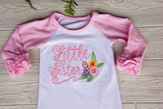 Little Sister Newborn Gown
