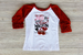 Love Wagon Ruffled Sleeve Tee Darling Custom Designs