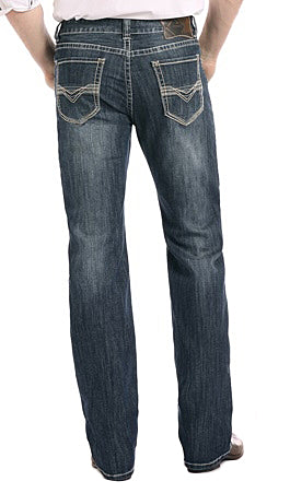 Rock & Roll Denim Double Barrel Straight Leg Reflex Jeans