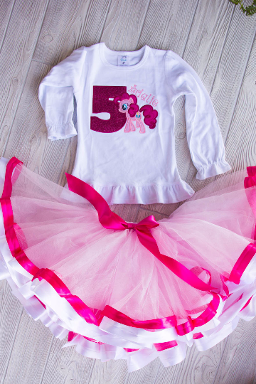 My Little Pony Birthday Tutu Outfit