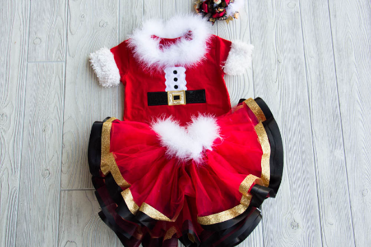 Mrs Claus Christmas Outfit