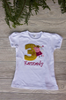 Peppa Pig Birthday Shirt w/ Name