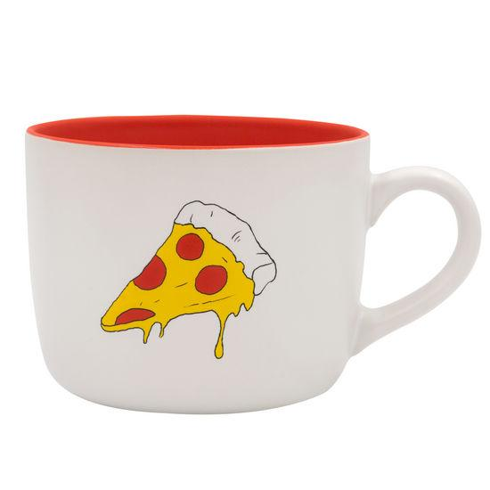 Pepperoni Pizza Mug About Face Designs