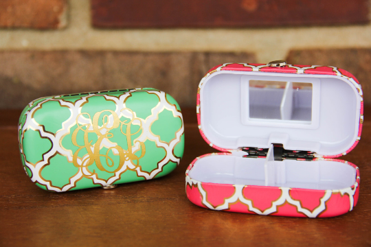 Monogrammed Pill Box Darling Custom Designs