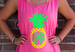 Pineapple Tank w/ Monogram