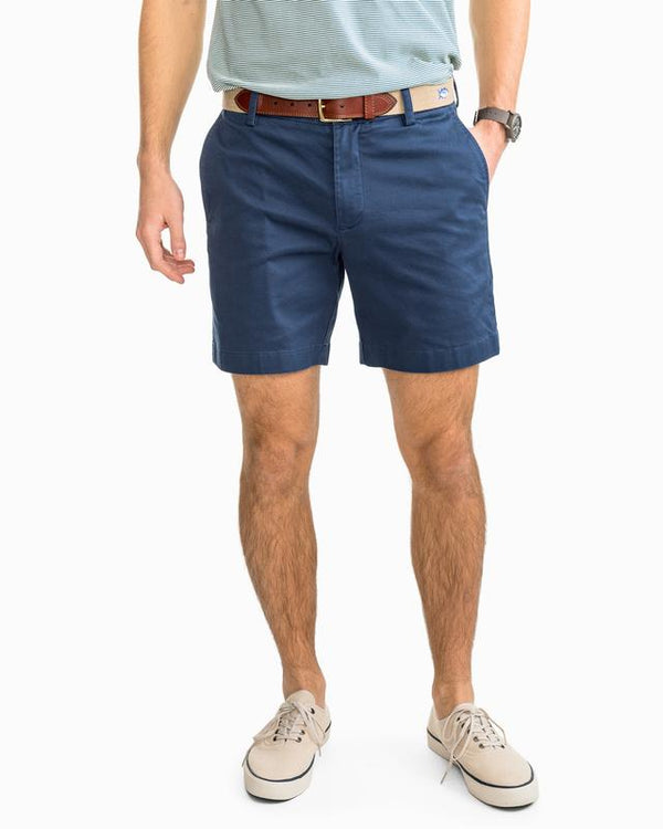 "Southern Tide Summer Weight 9"" Channel Marker Shorts"