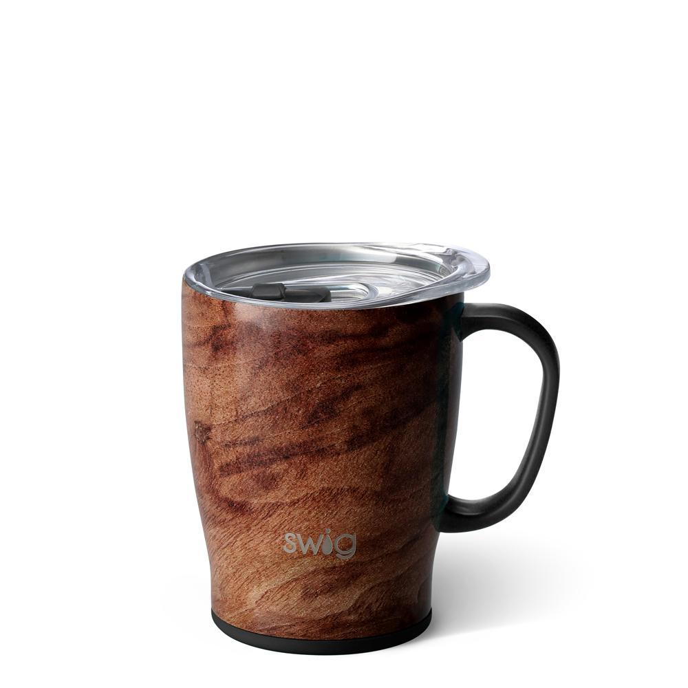 Swig 18 Oz Mug Black Walnut