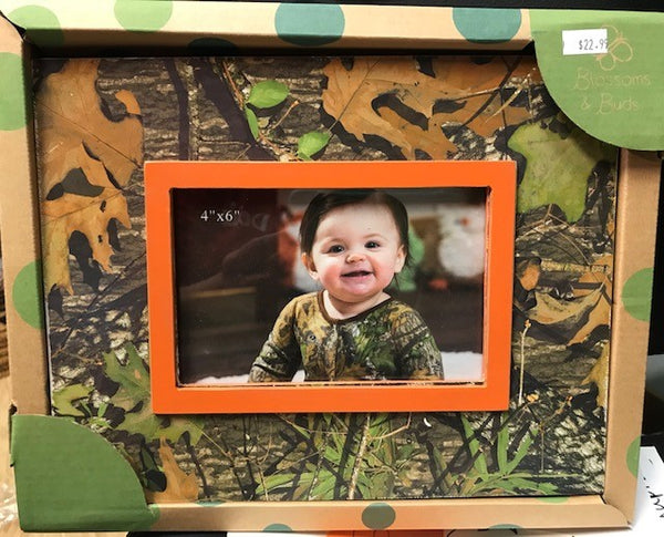 Mossy Oak Wooden 6x4 Photo Frame by Evergreen Enterprises