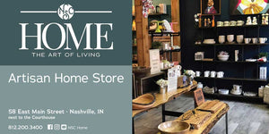 NSC Home store located in Nashville, Indiana in the heart of Brown County, Indiana featuring art and home decor for your home.