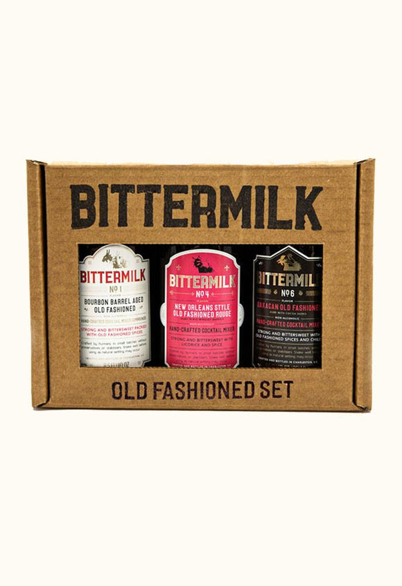 Bittermilk Old Fashioned Variety Pack