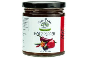 Hot Seven Peppers Jam