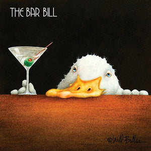 Bar Bill Napkins