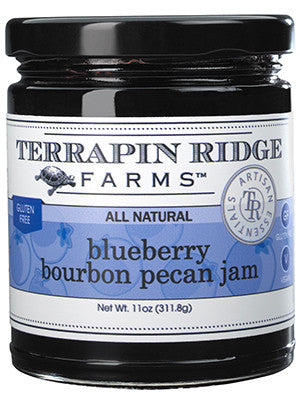 Blueberry Bourbon Pecan Jam