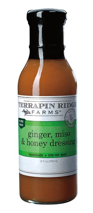 Ginger Miso Honey Dressing