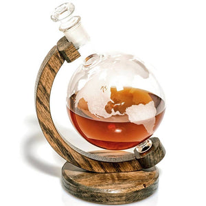 Globe Bourbon Decanter