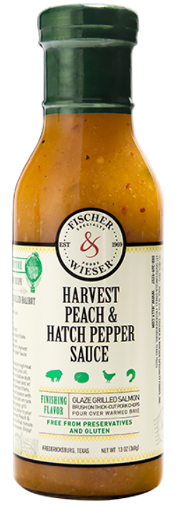 Harvest Peach & Hatch Pepper Sauce