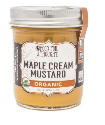 Maple Cream Mustard