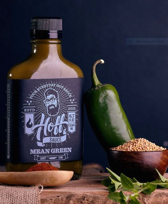 Hoff's Mean Green Sauce