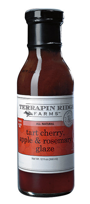 Tart Cherry, Apple, & Rosemary Glaze