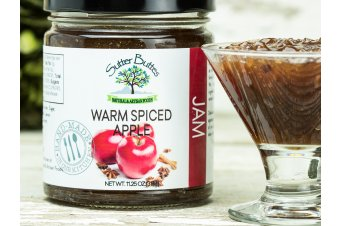 Warm Spiced Apple Jam