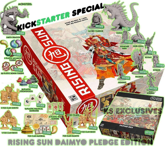 NEW - Rising Sun with KS Exclusives & Rising Sun Metal Coins In Stock!