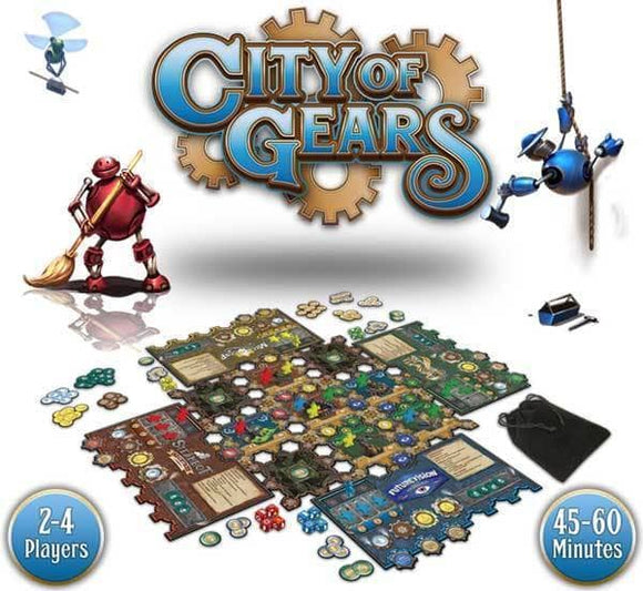 City of Gears Kickstarter, Retail, and Expansion