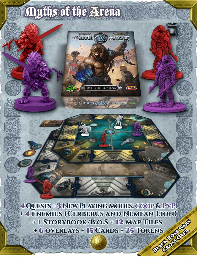 Sword and Sorcery Ancient Chronicles Gold Bundle Kickstarter The Game Steward thegamesteward