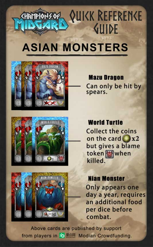 champions of midgard asian promo card the game steward grey fox games