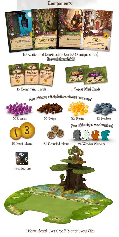 everdell collectors edition kickstarter board game the game steward thegamesteward