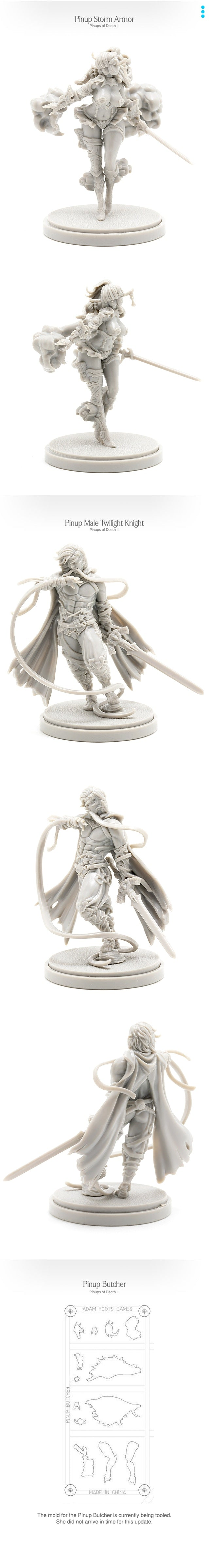 kingdom death monster kdm pinups of death iii pinups of death 3 kickstarter spillets steward thegamesteward
