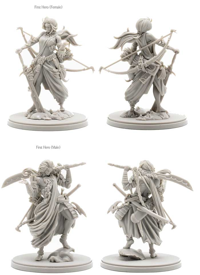 kingdom death monster first hero promo expansion kickstarter thegamesteward the game steward