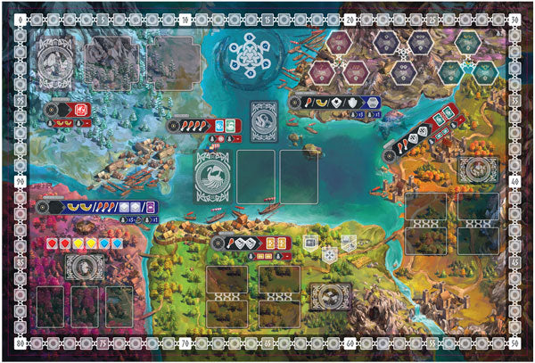 reavers of midgard neoprene playmat play mat gamemat game mat kickstarter the game steward thegamesteward