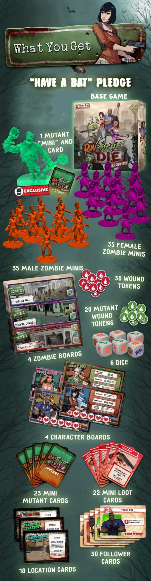 Run Fight or Die Reloaded Kickstarter The Game Steward thegamesteward