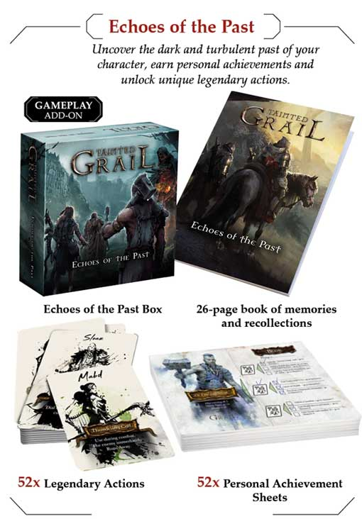 tainted grail echoes of the past kickstarter the game steward thegamesteward