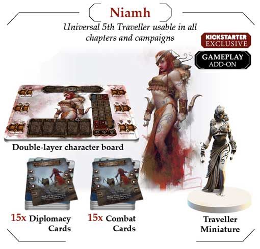 tainted grail niamh kickstarter exclusive the game steward thegamesteward