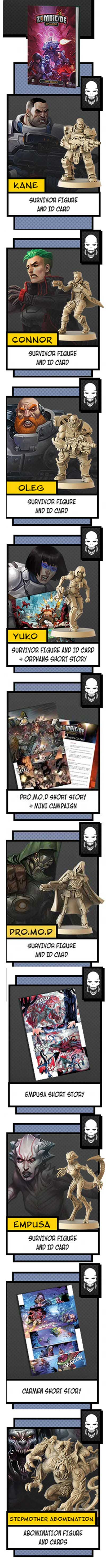 zombicide invader comic book kickstarter cmon the game steward thegamesteward