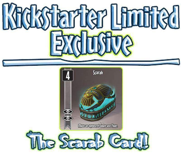 10 Minute Heist: The Wizard's Tower Scarab Promo Card (Kickstarter Special) Kickstarter Board Game Accessory Chronicle Games