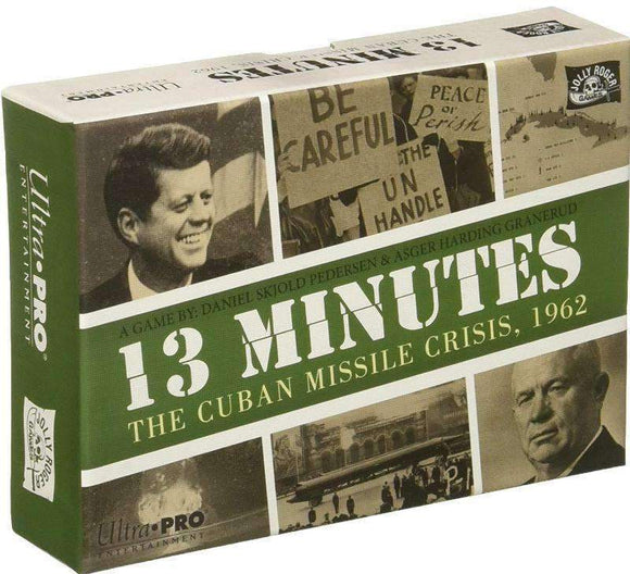 13 Minutes: Cuban Missle Crisis Retail Board Game Jolly Roger Games