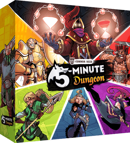 5 Minute Dungeon (Kickstarter Special) Kickstarter Card Game KOSMOS 0824284500014 KS000636