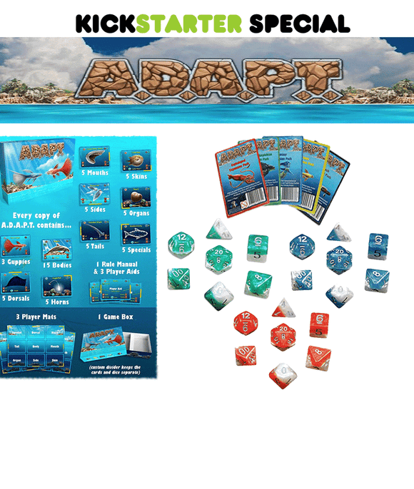 A.D.A.P.T. (Kickstarter Special) Kickstarter Card Game Gate Keeper Games