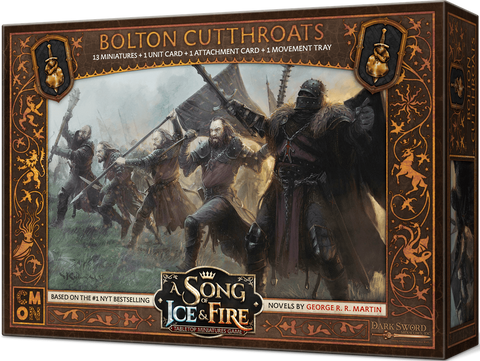 A Song of Ice and Fire: Bolton Cutthroats (Kickstarter Special) Kickstarter Board Game Accessory dV Giochi KS000720I