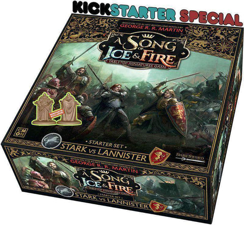 A Song of Ice and Fire (Kickstarter Special) Kickstarter Board Game CMON Limited KS000720