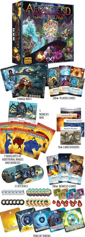 Aeon's End New Age: Tide Master Pledge Bundle (Kickstarter Pre-Order Special) Kickstarter Board Game Action Phase Games KS000774B