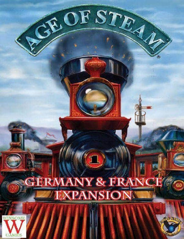 Age of Steam Deluxe Edition: Germany/Rust Belt Map (Kickstarter Pre-Order Special) Kickstarter Board Game Expansion Eagle Gryphon Games KS000922D