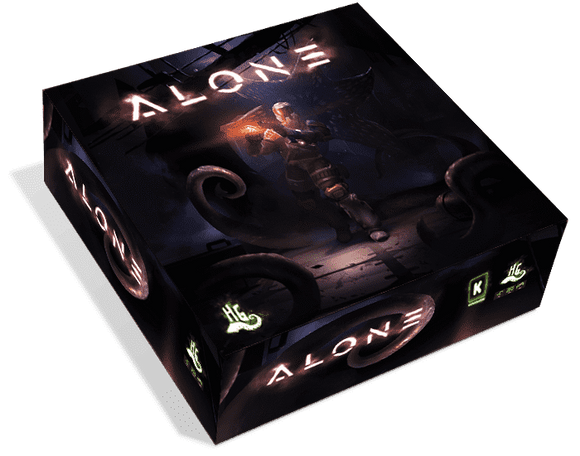 Alone: Engineer Pledge (Kickstarter Special) Kickstarter Board Game Horrible Games KS000727A