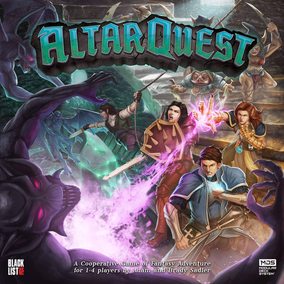 Altar Quest: All-In Combo Bundle (Kickstarter Pre-Order Special) Kickstarter Board Game Blacklist Games KS001004A