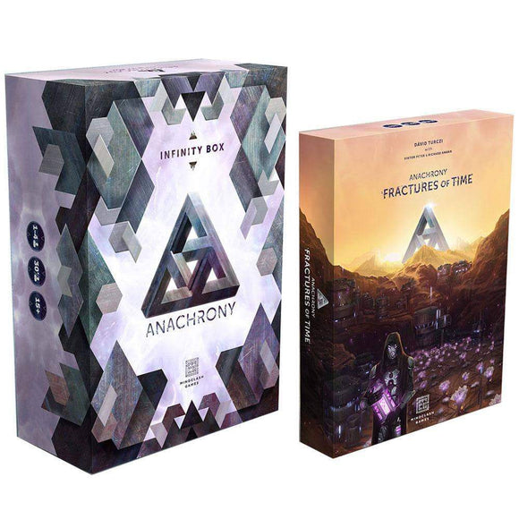 Anachrony: Fractures of Time plus Infinity Box Pledge Combo Bundle (Kickstarter Pre-Order Special) Kickstarter Board Game Albi