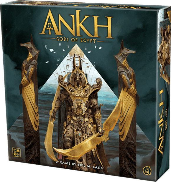 Ankh Gods of Egypt: Double Sided Play Mat (Kickstarter Pre-Order Special) CMON KS001033H