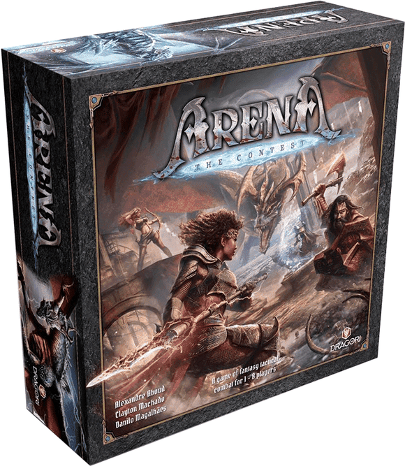 Arena The Contest: Full Pledge Bundle (Kickstarter Pre-Order Special) Kickstarter Board Game Dragori Games