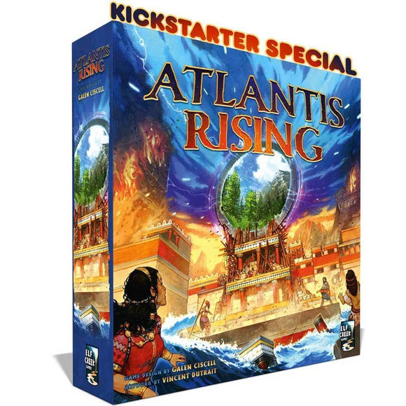 Atlantis Rising: Deluxe Edition (Kickstarter Pre-Order Special) Kickstarter Board Game Elf Creek Games
